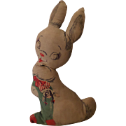 Vintage Cloth Stuff Bunny