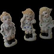 Three Japan Girl Figures