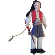 Vintage Cloth Doll in Regional Outfit
