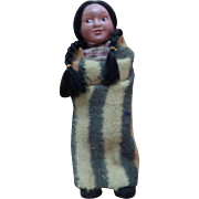 Vintage Celluloid Indian Women Doll