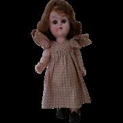 Vintage Hard Plastic Walker Girl Doll
