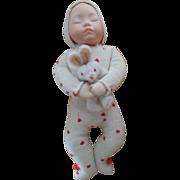 Artist Sleeping Baby Doll by Carole Bowling