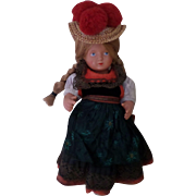 Lovely German Celluloid Schildkrot Company Doll.