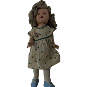 Vintage Composition Shirley Temple Doll.