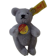 Cute Steiff Jointed Teddy Bear. - Grey