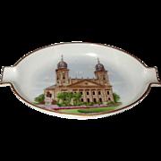 SALE Herend Porcelain Souvenir Trinket Dish Debrecen 1960s Vintage