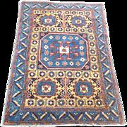 Antique Bergama carpet Turkey 4' x 6' 122cm x 184cm