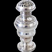 REDUCED Besamim Silver Judaica Spice Tower Havdalah Box Antique
