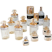 Perfume Bottles Balenciaga Quadrille Eau De Toilette Vintage Paris France