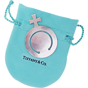 Tiffany & Co Sterling Silver Bookmark Female Venus Symbol Vintage