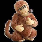 SOLD An Old German Smoking Monkey, 1930