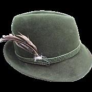 SALE Vintage Anton Pichler (Gratz) Fedora Hat