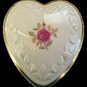 Lenox Heart Shaped Jewelry/Trinket Box