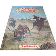 "1976 ""Cowboys and Indians"" Illustrated History/Book"