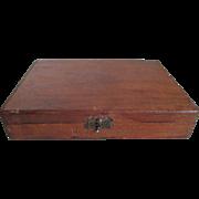 1940s K-. Cigaritos Cigar Wood Box