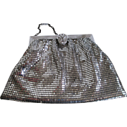 1960s/70s Whiting and Davis Silver tone Mesh Purse