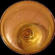 Fostoria Biscayne Gold Sherbert