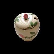 Franciscan Desert Rose condiment jar - sugar bowl