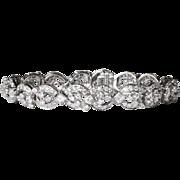 Drop Dead Gorgeous 9.52ct t.w. Mixed Cut Diamond Bracelet Platinum