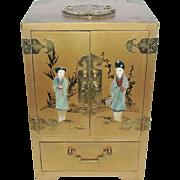 Lady's Oriental Jewelry Chest