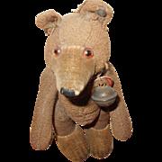 """Steiff Bare Bear Teddy Baby 6"""" Tall"""