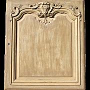 Antique XVIIIth century Louis XV French oak piece of paneling