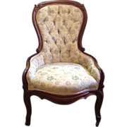 REDUCED Victorian Gossip Chair