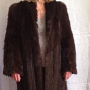 REDUCED Full Length Mink Coat