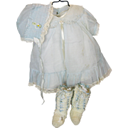 Factory Original Tagged Horsman Composition Baby Doll Dress, Hat +