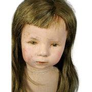 SOLD 1930's Kathe Kruse 1H Wigged Doll