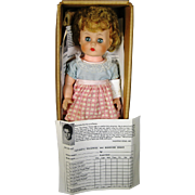 SOLD 1962 Dr. Ben Casey Penny the Perfect Patient Doll