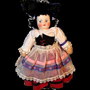 Molly-'es Mollye's Cloth Mask Face Doll