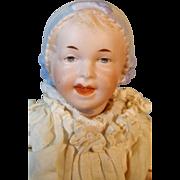 "Sweet 8"" Recknagel Antique Bonnet Baby German Doll, A/O"
