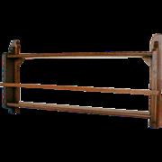 Oak Plate Rack