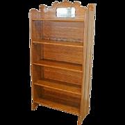 Oak Fold Up Bookcase by Larkin Furniture Company
