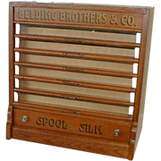 REDUCED Spool Cabinet by BELDING BROTHERS & CO
