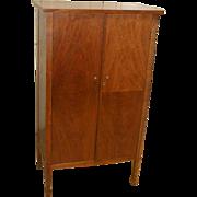 Walnut Storage Cabinet