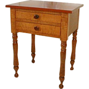 REDUCED Period New England Tiger Maple Stand