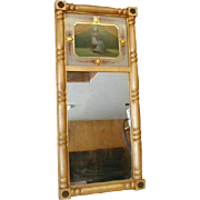 Federal Period Mirror in Gilded Frame
