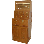 Sectional Filing and Storage Cabinet