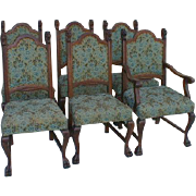 REDUCED R J Horner Lion Head Dining Chairs