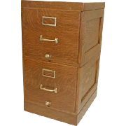 Two Drawer Stacking File Cabinet by Shaw Walker