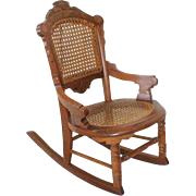 Childs Victorian Rocking Chair