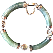 REDUCED Nephrite Jade Asian Style Bracelet
