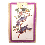 Vintage Audubon's Band Tailed Dove Playing Cards By Congress #208