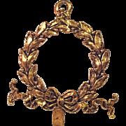 SALE Signed James Papalia Wreath Wall Hanger - 1962