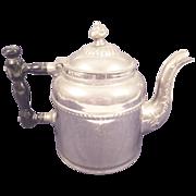 REDUCED Vintage Aluminum Coffee/Tea Pot - Nicely Ornate