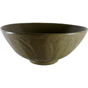MING Celadon Lotus Bowl Chinese, 6 1/2 In.