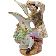 Meissen Gentleman With Pitcher Figure