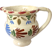 French Faience Puzzle Jug Fourmaintraux Beautiful Colors Red Tag From Rubylane Sold On